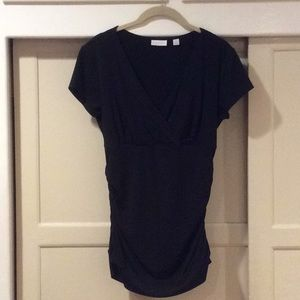 New York & Co Figure form fitting top